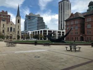 Peoria Civic Center plaza