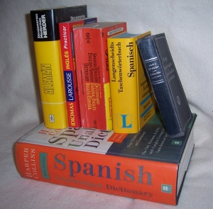 Spanish/English Dictionary collection
